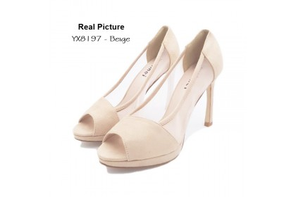 Fashionhomez 8197 Korean Stiletto High Heels ( size 35-38 )