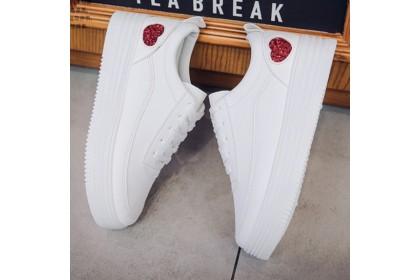 Fashionhomez 8014 Love Bling Harajuku Shoes ( size 35-39 )