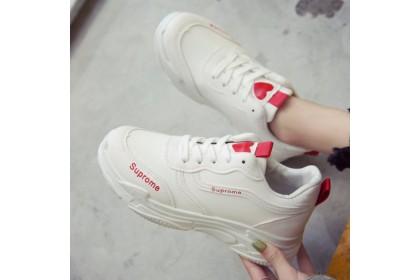"""Fashionhomez 8023 Lace Up """"Suprome"""" Sport Shoes ( size 35-40 )"""
