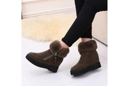 Fashionhomez 8020 Warm Winter Snow Zipper Boot ( size 35-40 )